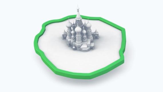 зона покрытия в Москве